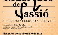 Cartell Jornada Passionarium 2018