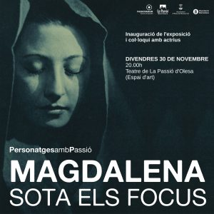Imatge inauguracio exposició Magdalena sota els focus